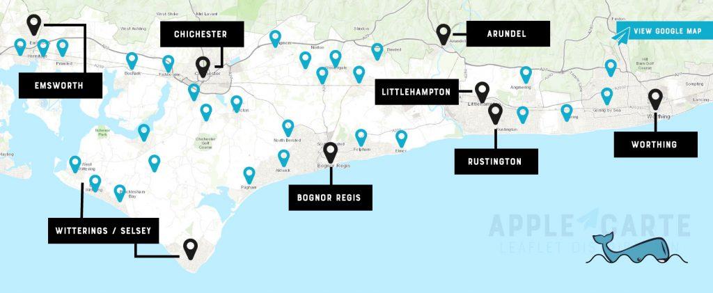 Leaflet Distribution - Full Map