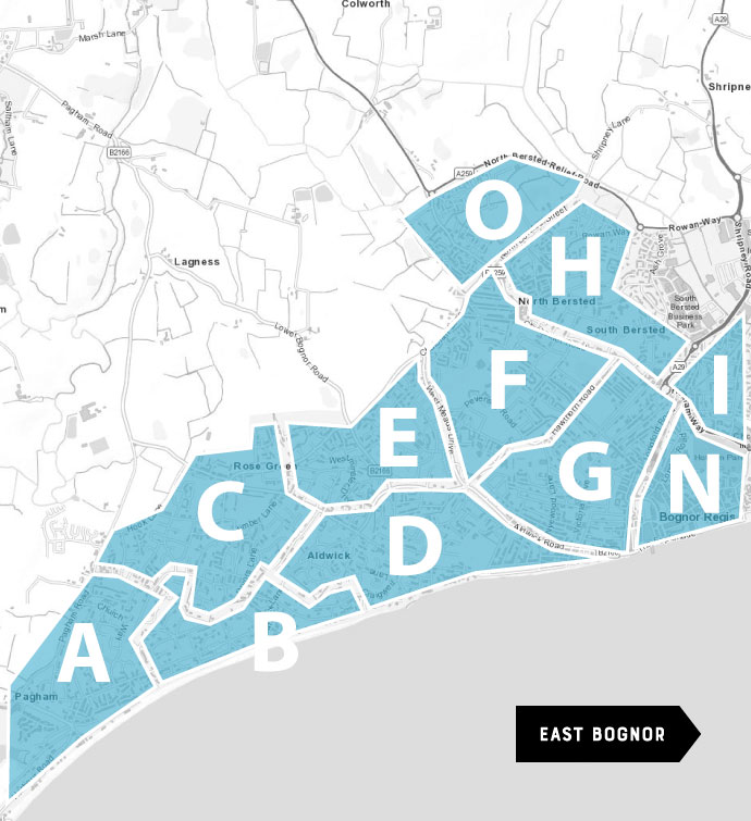Leaflet Distribution - Bognor Regis Map